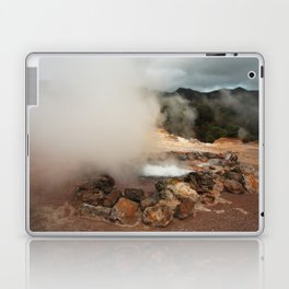 Volcano in Azores Laptop & iPad Skin