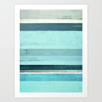 salt water Art Prints featuring Salt Water by T30 Gallery