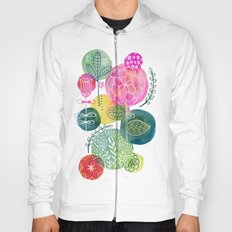 Blooming Circles Hoody