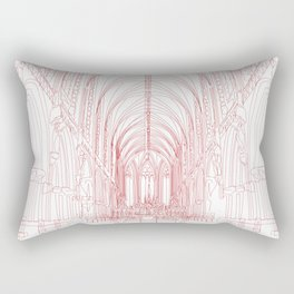 Inside Church Rectangular Pillow
