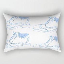 Blue Oxfords Rectangular Pillow