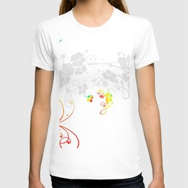 Kringel Circle Flowers T-shirt