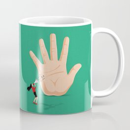 Talk To The Hand Coffee Mug