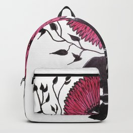 Divine Flower Woman Backpack