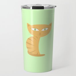 Mysterious Cat Travel Mug