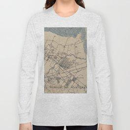 Vintage Map of Palo Alto California (1895) Long Sleeve T-shirt