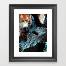 Uranium Beach Framed Art Print