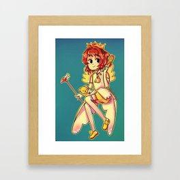 Sakura CC Framed Art Print
