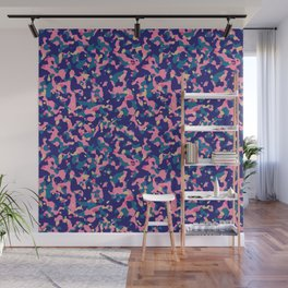 Candy and gums organic abstract pattern Wall Mural