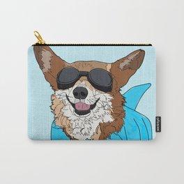 Corgi Dog Surfer Carry-All Pouch