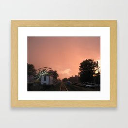 The Fair  Framed Art Print