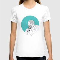 vikings T-shirts featuring Ragnar Lothbrok / Vikings by Lucia Prieto Moreno