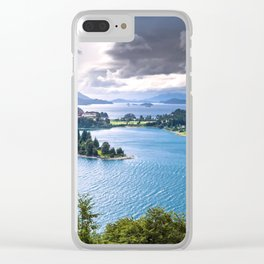 Bariloche Argentina Clear iPhone Case