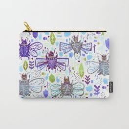 Inky Beetles Carry-All Pouch