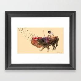 The Evading Cape Framed Art Print