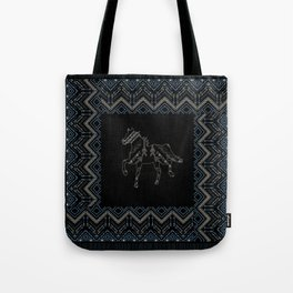 Ethnic pattern with american indian traditional ornament. Tribal background. Tote Bag