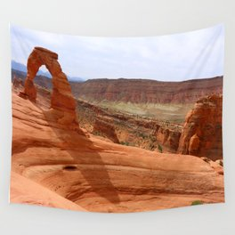 Delicate Arch A Famous Landmark Wall Tapestry