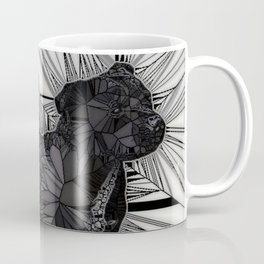 Staffordshire Bull Terrier Mosaic Coffee Mug