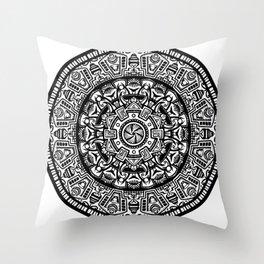 Egyptian Inspired Mandala Throw Pillow