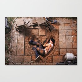 The Wrong Kind of Love Canvas Print