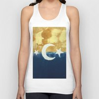 moonrise Tank Tops featuring Moonrise by Abby Snyder
