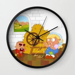 Rumpelstiltskin Wall Clock