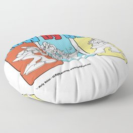 Blow By Blow Floor Pillow