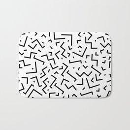 Memphis pattern 30 Bath Mat