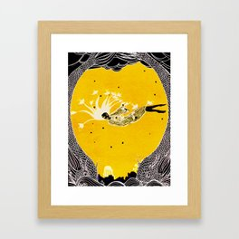 Love less flight Framed Art Print