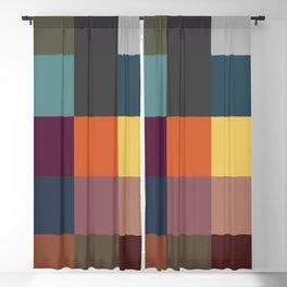 Pixel Patchwork Kappa Blackout Curtain