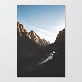 Zion 2. Canvas Print