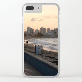 Sunset in San Juan Clear iPhone Case