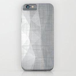 In The Flow - Geometric Minimalist Grey iPhone Case