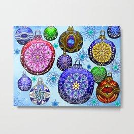 Christmas Artwork #4 (2018, No Glow) Metal Print