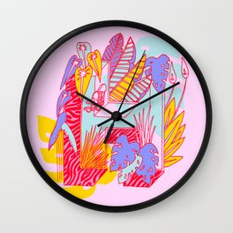 Jungle fever H Wall Clock
