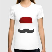 fez T-shirts featuring Man with a Fez by Emir Simsek