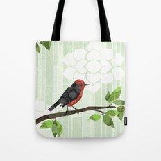 Bird in Tree Tote Bag