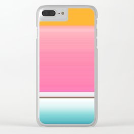 Going for the Kiss Clear iPhone Case