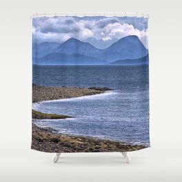 Over the Sea to Skye Shower Curtain