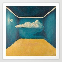 Clouded Room Art Print