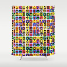 Hero Collection  Shower Curtain