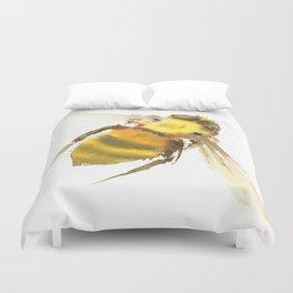 Bee, bee art, bee design Duvet Cover