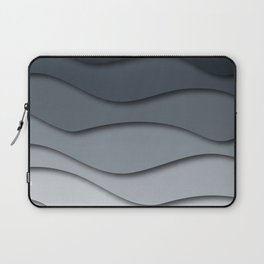 Abstract wavy design Laptop Sleeve
