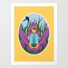Thumbellina Art Print