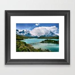 Slice of Heaven Framed Art Print