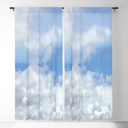 Soft Heavenly Clouds Blackout Curtain