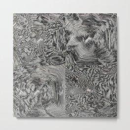Optic kinetic art Metal Print