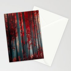 Magical trees Stationery Cards