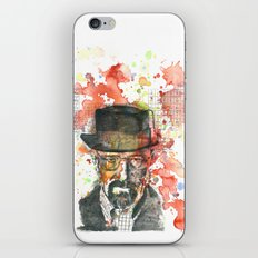 Walter White from Breaking Bad iPhone & iPod Skin
