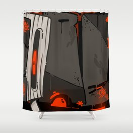 HARDCORE Shower Curtain
